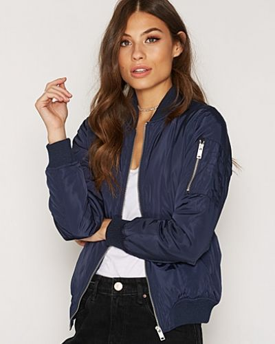 New Look Wow Padded Bomber