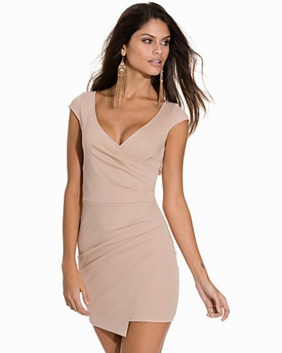 Fodralklänning Wrap Bodycon Dress från NLY One