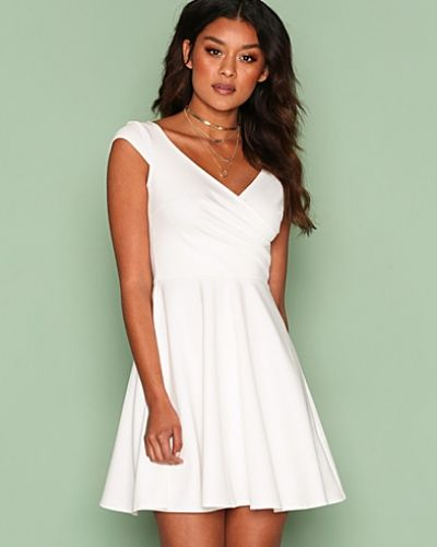 NLY One Wrap Bust Skater Dress