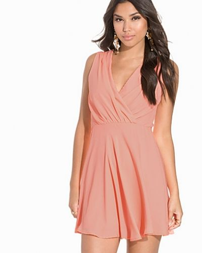 NLY One Wrap Chiffon Skater Dress