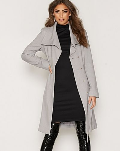 Miss Selfridge Wrap Fit And Flare Coat