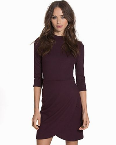 Topshop Wrap Front Bodycon Dress