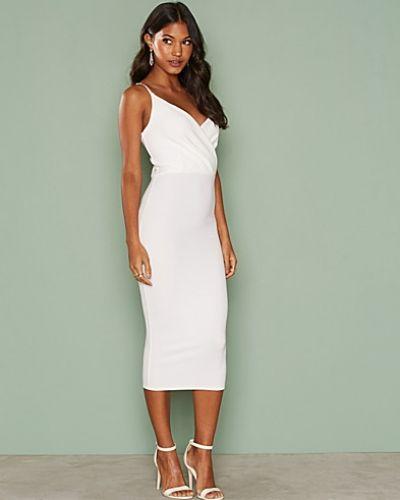 NLY One Wrap Midi Crepe Dress