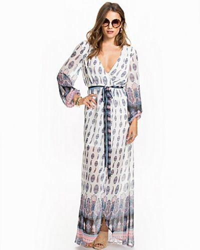 NLY Trend Wrapped Long Dress