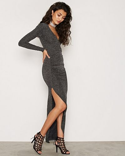 NLY Trend Wrapped Lurex Dress