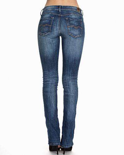 Till dam från Replay, en lila bootcut jeans.