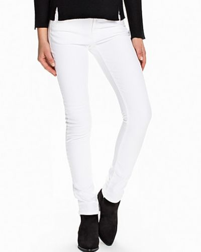 YC. Slim White Denim Jeans Gant slim fit jeans till dam.