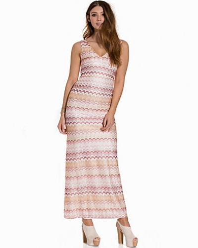 Dry Lake Ziczac Long Dress