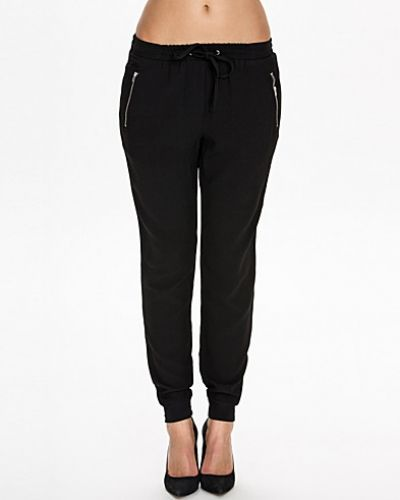New Look Zip Crepe Cuff Jogger