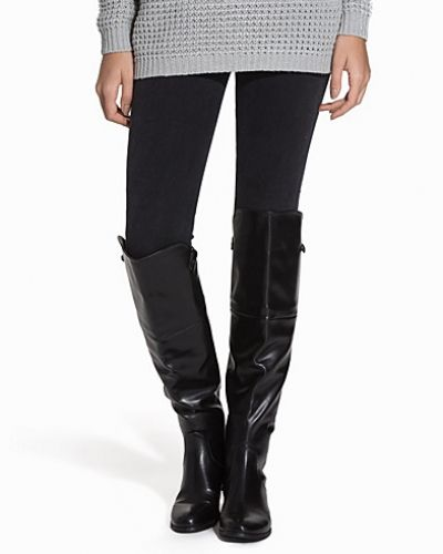 Nly Shoes Zip Detail Over Knee Boot