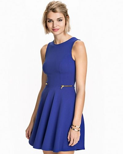 Klänning Zip Side Skater Dress från New Look