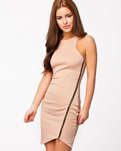 Lili London Zip Sleeveless Bodycon Dress