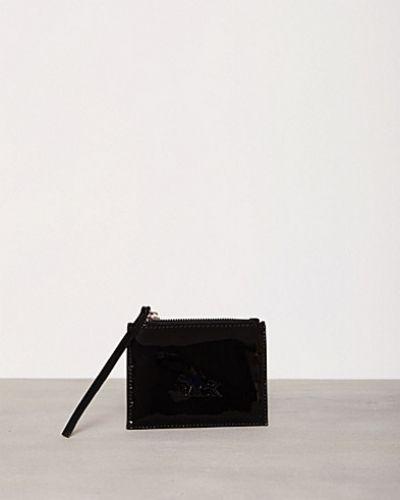 Zip Wallet Patent Back plånbok till dam.